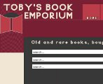 web design for booksellers